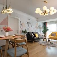 北欧现代简约风格客厅魔豆吊灯