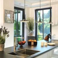 新款欧式客厅灯饰水晶吊灯简约现代大气家用卧室餐厅美式灯具