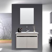 现代简约实木浴室柜组合洗面洗脸盆洗手盆柜洗漱台