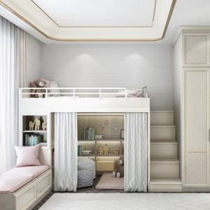 全屋定制儿童房上下床榻榻米双层床