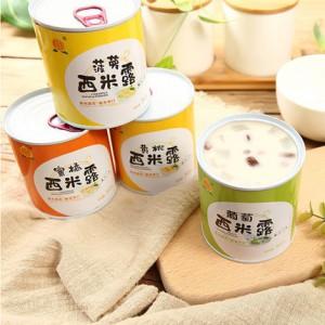 酸奶水果罐头