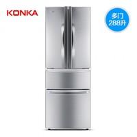 康佳BCD-288升多门冰箱家用法式双开门节能双门三门对开门