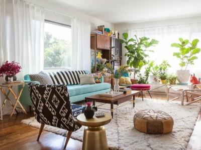 客厅用什么颜色瓷砖最耐看 现在客厅最流行地砖颜色搭配效果图