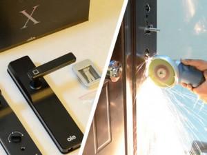 一把心(新)酸(锁)一把泪:Ola X 指纹锁不完美安装体验