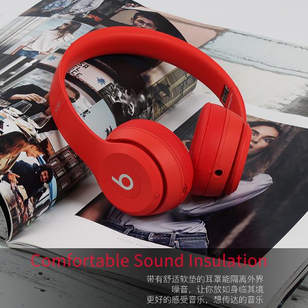 Beats solo 无线蓝牙耳机头戴式耳麦十周年版米奇